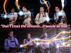 Crossing Streams