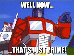 That's Just Prime
